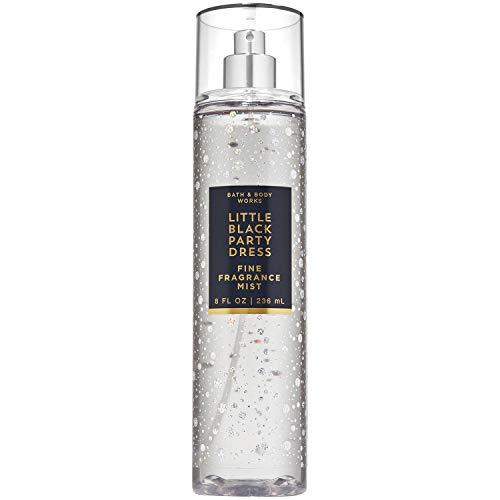 Bath and Body Works Little Black Party Dress Fine Fragrance Mist Spray 8 Ounce 2019 Limited Edition