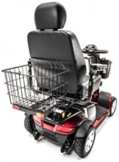 Rear Basket J900 with Safety Reflectors for Golden, Drive, Challenger, Go-Go, and Pride Mobility Scooters & Electric Wheelchairs