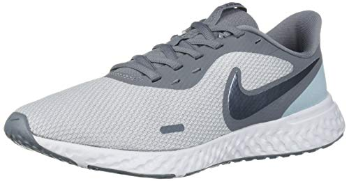 Nike Women's Revolution 5 Running Shoe, Wolf Grey/Metallic Cool Grey-Cool Grey, 8 Regular US