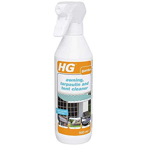 HG 615050106 Tarpaulin Cleaner 500 ml – for Quick and Easy Freshening-for Awnings, Canopies, Tent,...