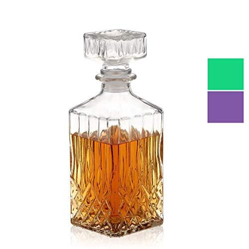 licoreras de vidrio marca Nakcase decanter