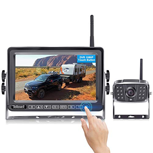 FHD 1080P Digital Wireless Backup Camera and 7''...