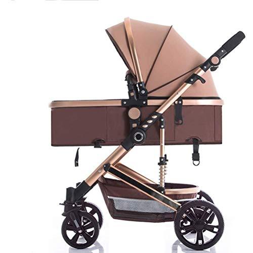 MAMINGBO Sillita de paseo buggy ligero cochecito de bebé plegable, con la...
