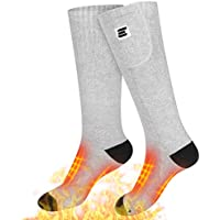 M-A Electric Heated Socks with 7.4V Rechargeable Batteries