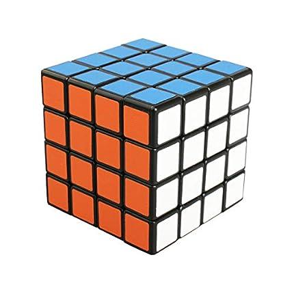 Cooja 4x4 Cube, Speed Cube Magic Puzzle Cubo Rompecabezas Brain Teaser Cubos Inteligentes Regalos para Niño Adulto