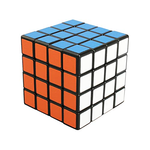 Cooja 4x4 Cube, Speed Cube Magic Puzzle Cubo Rompecabezas Brain Teaser Cubos Inteligentes Regalos para Niño Adulto