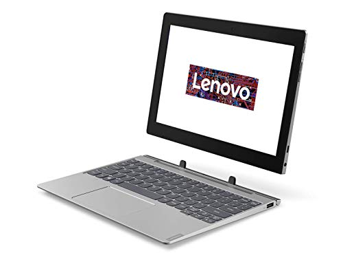 Lenovo IdeaPad D330 25,4 cm (10,1 Zoll, 1280x800, HD, IPS, Touch) 2-in-1 Tablet (Intel Celeron N4000, 4GB RAM, 64GB eMMC, Intel UHD Grafik 600, Wi-Fi, Windows 10 Home S) grau