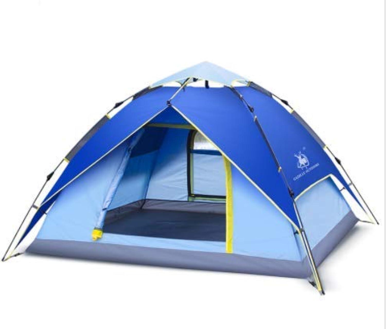 Hnks Outdoor liefert hydraulische 3 4-Personen doppeltes Dickes Campingzelt