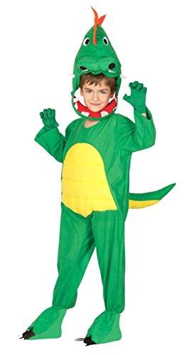 Guirca 83239 - Dinosaurier-Kostüm für Kinder, Größe 10-12 Jahre