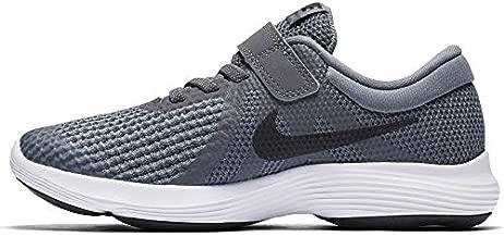 Nike Boys' Revolution 4 (PSV) Running Shoe, Dark Grey/Black - Cool Grey - White, 3Y Regular US Little Kid