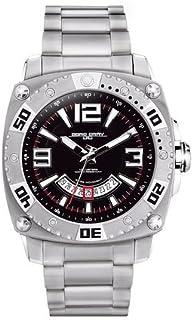 ヨーグ グレイ Jorg Gray Solid Stainless Steel Bracelet Black Dial Men's watch #JG9800-21 男性 メンズ 腕時計 【並行輸入品】