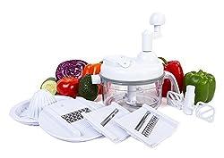 top 10 electric lettuce shredder Ultra Chef Express Food Chopper – 7 in 1 Chopper, Blender, Blender, Beater, Slicer, Chopper, and…