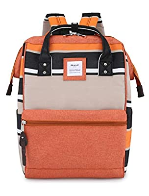 Himawari Travel School Backpack with USB Charging Port 15.6 Inch Doctor Work Bag for Women&Men College Students