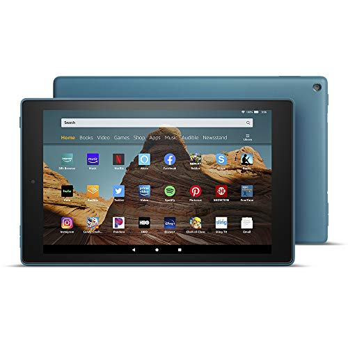 All-New Fire HD 10 Tablet (10.1' 1080p full HD display, 64 GB) – Twilight Blue