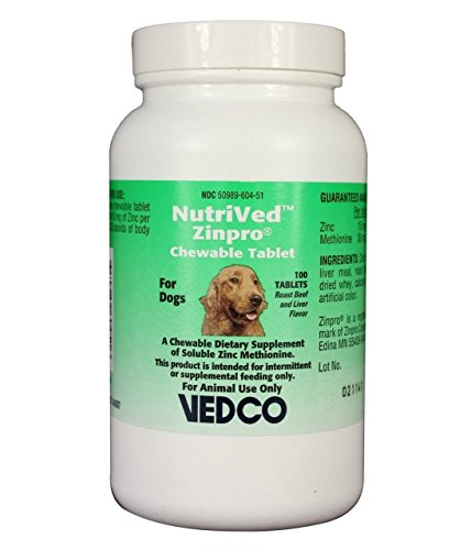 Top 10 best selling list for zinc methionine supplement for dogs