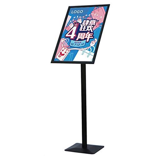 KXBYMX Werbeträger Plakatrahmen Aluminium Bodenständer auswechselbarer Werberahmen Schilderrahmen Zeichenrahmen (Size : A3)