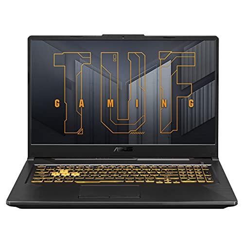 ASUS TUF Gaming F17 (2021) 17.3-inch (43.94 cms) FHD 144Hz, Intel Core i5-11400H 11th Gen, RTX3050Ti 4GB Graphics, Gaming Laptop (16GB/512GB SSD/Windows 10/Gray/2.6 Kg), FX766HE-HX054T