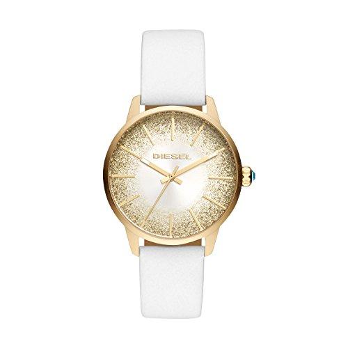 Diesel Reloj Analogico para Mujer de Cuarzo con Correa en Cuero DZ5565