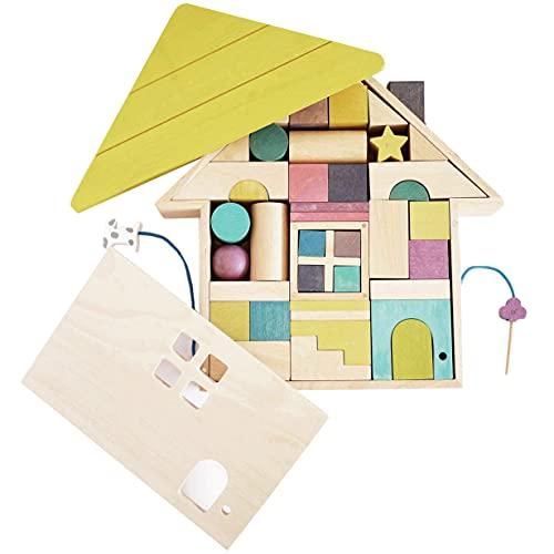 gg* (ジジ) tsumiki 積み木セット 木製 積み木 音 おもちゃ 知育玩具 ( 1歳 / 2歳 / 3歳 ) 男の子 女の子 誕生日 プレゼント