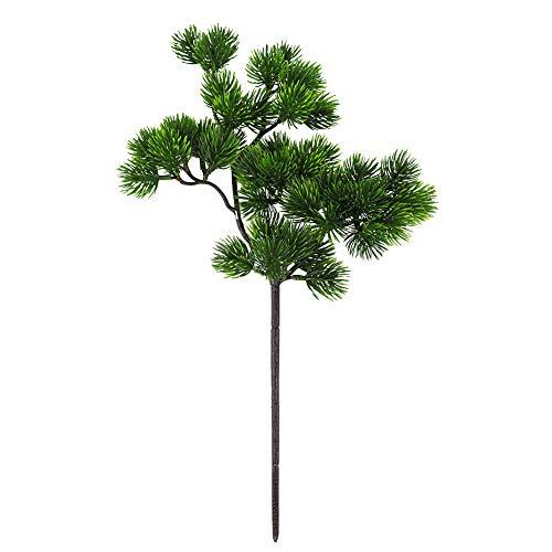 Austinstore Plante artificielle en pin pour bonsaï Vert