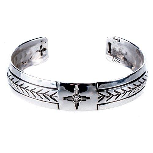 Tskies Sterling Silver Bracelet for Women Attune Cuff Zia Stamp Luxury Southwest
