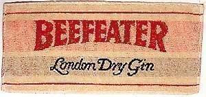 Beefeater Gin Bar hipotecas toalla (PP)