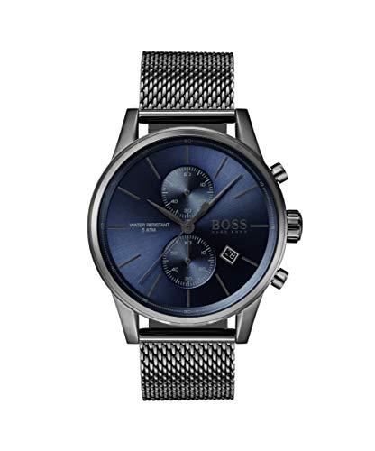 Hugo Boss Orologio Cronografo Quarzo Uomo con Cinturino in Acciaio Inox 1513677