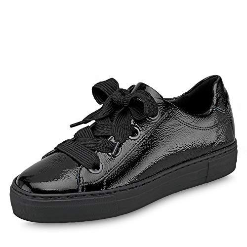ARA Damen Courtyard 1237486 Sneaker, Schwarz (Schwarz 78), 38 EU