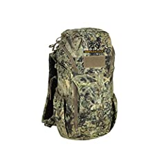 """Volume: 935 c.i. - Weight: 2 lbs 5 oz - Dimensions: 18""""h x 9""""w x 7""""d Laser-cut MOLLE panel on the front to attach exterior equipment - Top organizational lid with mesh pouch for accessories Adjustable shoulder harness - Slot for an adjustable hip bel..."""