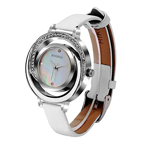 Ladies Stylish Watch Analog Quartz with Leather Strap -$6.89(31% Off)