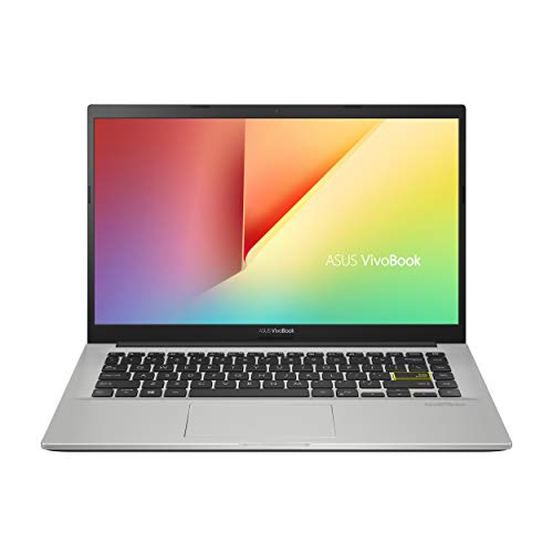 ASUS Vivobook 14 A413FA-BV508T, Notebook con Monitor 14' Anti-Glare, Intel Core i3-10110U, RAM 8GB DDR4, 256GB SSD PCIE, Windows 10 Home, Bianco