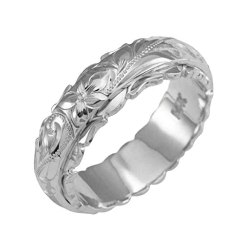 SANWOOD Couple Rings, Gold Ring Silver Ring Alloy Ring Fashion Ring Couple...