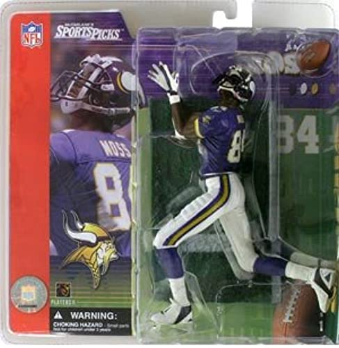 Football Series 1  Randy Moss with lila Jersey [Toy] by Unknown