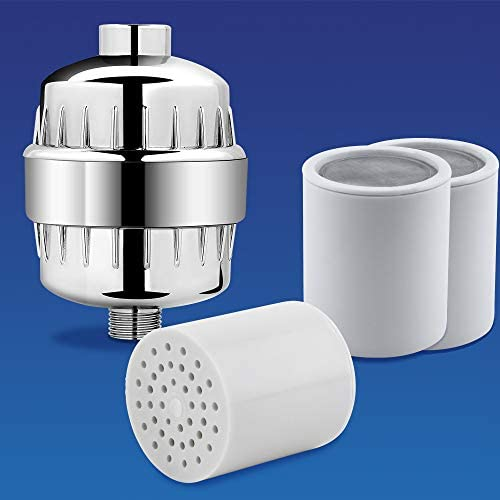 AquaBliss SF220 Shower Filter with 1 Replaceable Multi Stage Filter Cartridge Inside Plus 3 product image