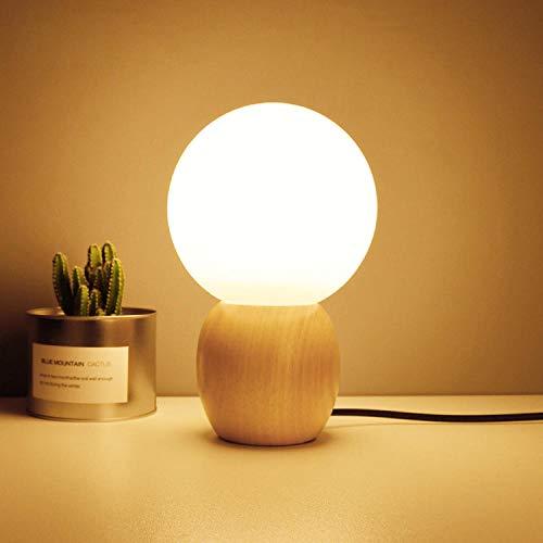 Houten moderne tafellamp Art Deco slaapkamer lichtdesign boek licht nachtlampje slaapkamer bedlampje