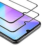 BANNIO Protector de Pantalla Xiaomi Mi A3,2 Unidades Cobertura Completa Cristal Templado para Xiaomi Mi A3 con Kit de Instalación,9H Dureza,Sin Burbujas,Negro