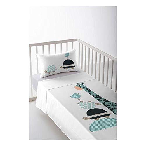 Cool Kids S2800664 Pablo Parure de lit pour lit de 80 cm, Multicolore, 120 x 180 cm