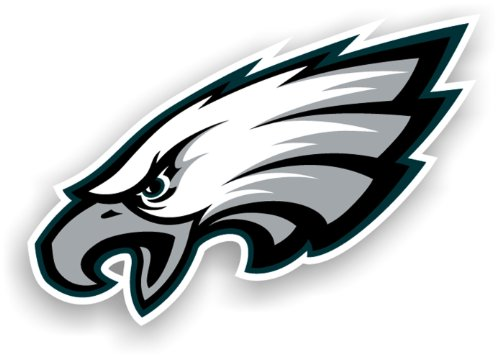Fremont Die NFL Philadelphia Eagles 12Zoll Vinyl Logo Magnet
