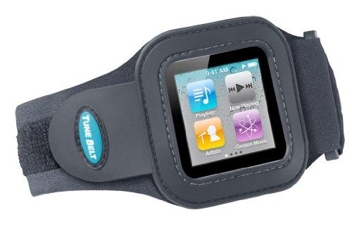 AB76+ Tunebelt Schwarz Sport Armband für iPod nano 6G