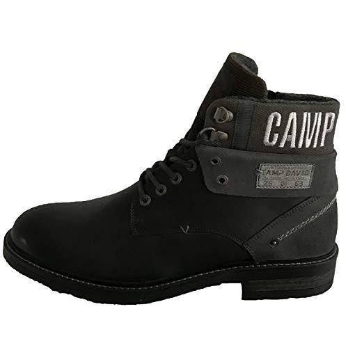 Camp David Herren Premium Boots aus Leder