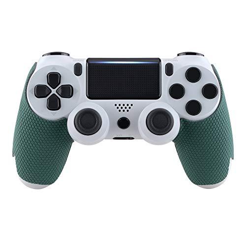 eXtremeRate Grip Adesivo per PS4 Pro Slim Controller Impugnatura Maniglia Skin Antiscivolo per Playstation 4 Joystick(Verde)