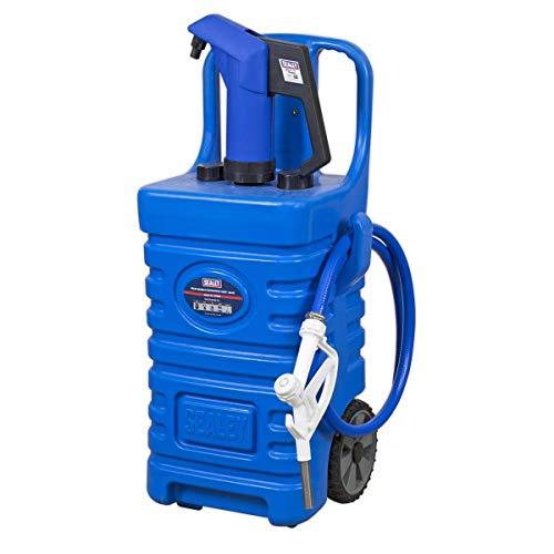 Sealey DT55BCOMBO1 Mobiler Spender mit AdBlue Pumpe, 55 l, Blau