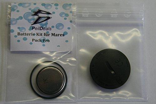 Mares Puck Pro Cambio de batería con tapa y torica