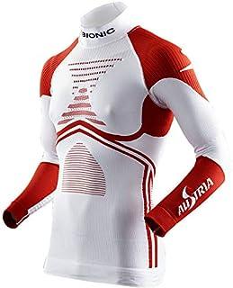 X-Bionic Ski Man Patriot Acc_Evo UW LG_LS.Turtle Neck, T-Shirt Uomo, Austria, XS