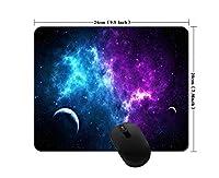 Nebula、Galaxyマウスパッド滑り止めマウスパッドゲームオフィスマウスパッド(240mm X 200mm X 3mm)