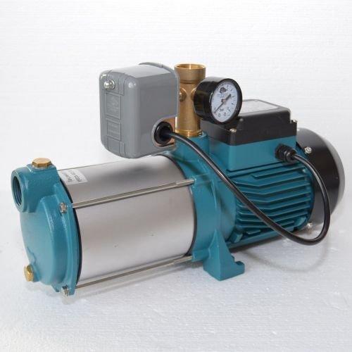 Kreiselpumpe Jetpumpe Gartenpumpe MH 1300 Watt 6000 L/h 5,5 bar m. Druckschalter
