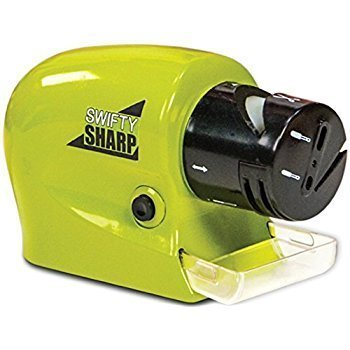 Istore Motorized Sharpening Swifty Knives Power Sharpener Precision Scissors Sharp Tool Home Kitchen Electric Grind Machine