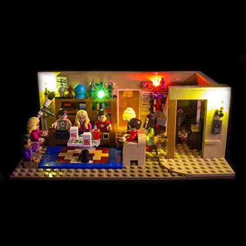 POXL Licht-Set Für he Big Bang Theory - LED Licht Set Led Beleuchtungsset Für Lego 21302 - NUR Licht Set