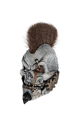 Horror-Shop Punk Biker Masque de Vinyle