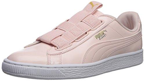 PUMA Women's Basket Maze Wn Sneaker, Pearl White, 7.5 M US